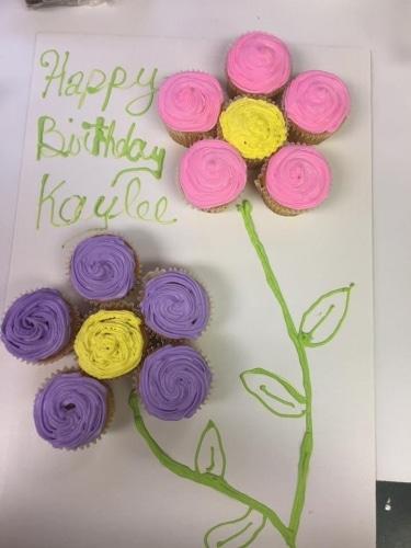 Birthday Cupcake Ice Cream Cake